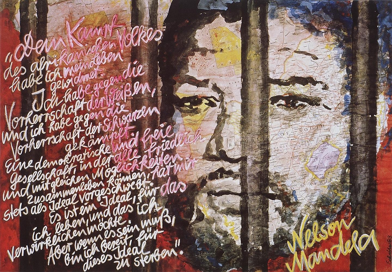Nelson Mandela — Die letzten Sätze seiner Verteidigungsrede